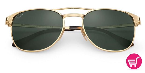 ray ban doradas gafa