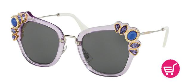 Modelo 03SS de la colección de gafas de Sol Miu Miu