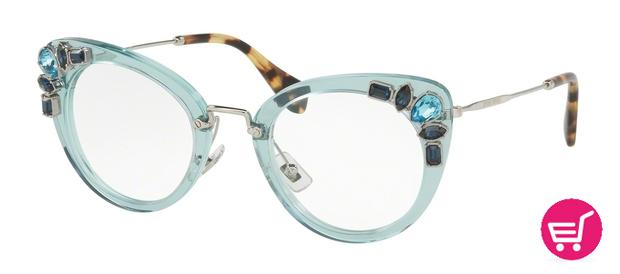Modelo MU 05PV de la colección de gafas para el invierno de 2016 de Miu Miu