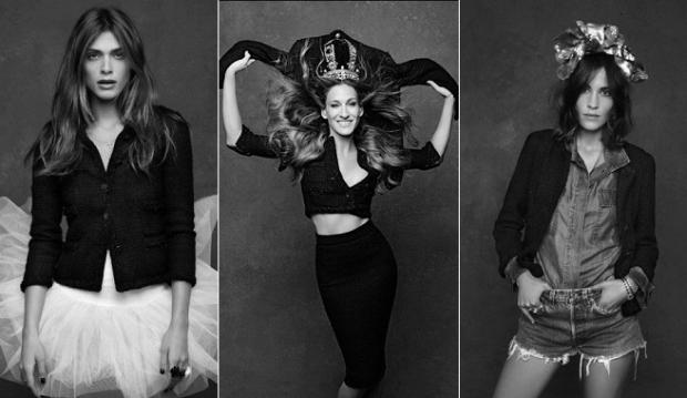 Karl Lagerfeld homenaje a la Little Black Jacket