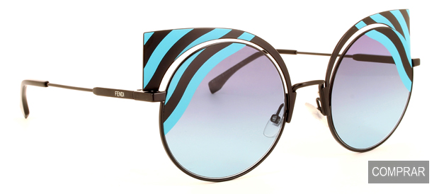 Imagen de las nuevas Gafas de Sol Hypnoshine de Fendi