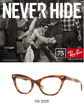Ray-Ban Never Hide Rock & Roll