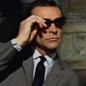 sean connery gafas de sol desde rusia con amor